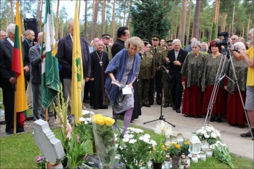Pagerbti Lietuvos laisvės kovotojai