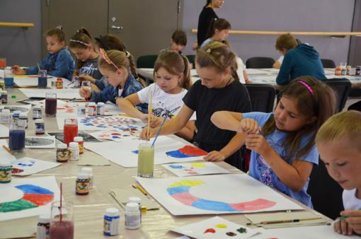 Vasaros meno mokyklos nuotykiai Šalčininkuose prasideda!