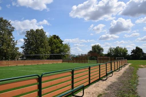 Vilkaviškyje – dar viena sporto erdvė