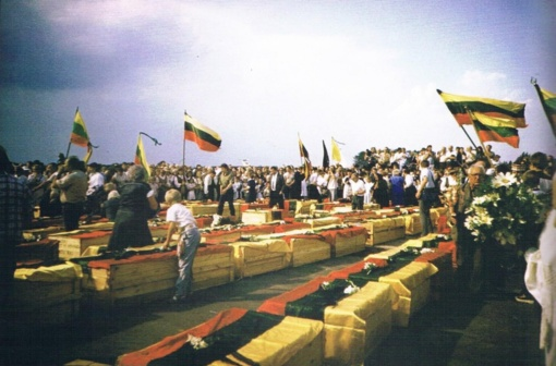 Tremtinių palaikų pargabenimo iš Igarkos į Lietuvą 30-metis