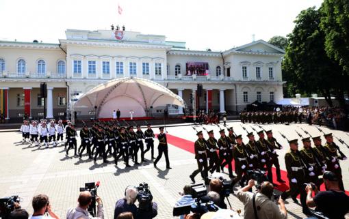 Prezidento inauguraciją stebėjo 600 tūkstančių žiūrovų