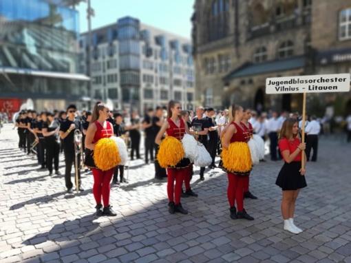Jungtinis Vilniaus meno mokyklų orkestras – tarptautinio čempionato prizininkas