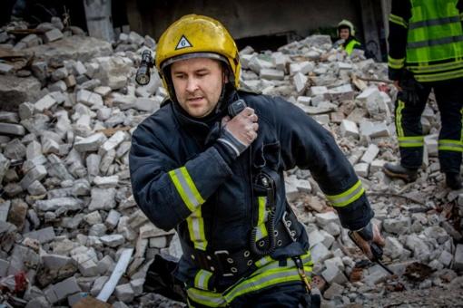 Ugniagesio gelbėtojo budrumo dėka buvo išgelbėta moters gyvybė