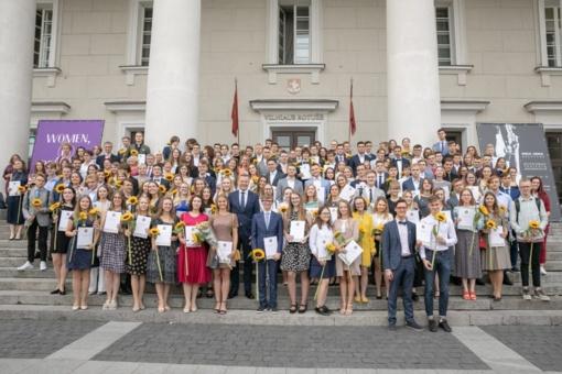 Sostinės šimtukininkams – Vilniaus mero padėkos