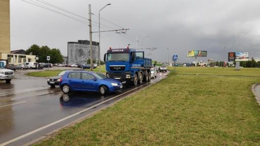 Galbūt matėte eismo įvykį Kaune, Pramonės prospekte?