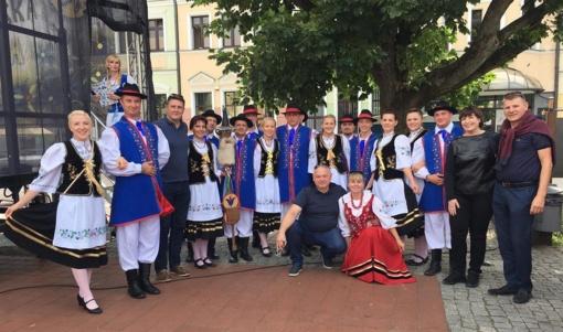 Tauragės savivaldybės delegacija dalyvavo Bytovo miesto šventėje