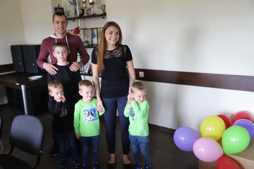 Karmėlavos trynukams – jau ketveri
