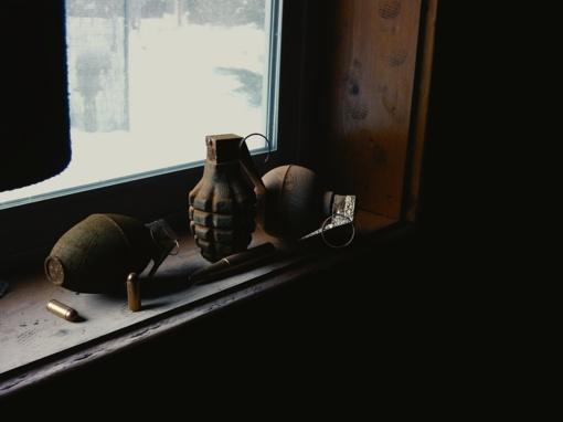 Per kratą Vilniaus rajone rasta kovinė granata