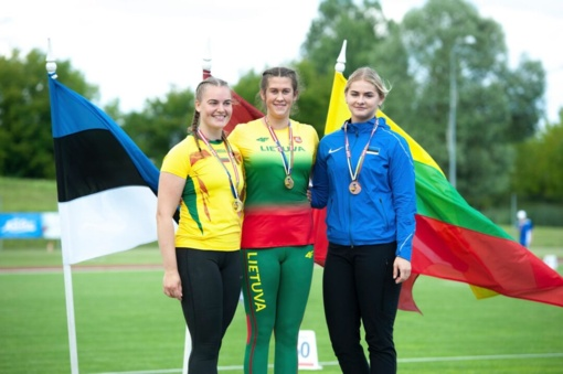 Rokiškėnų lengvaatlečių sėkmė Estijoje
