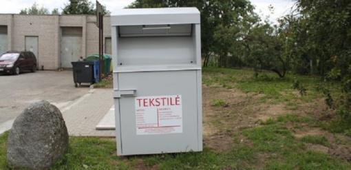 Jurbarko rajone pradedamos rinkti tekstilės atliekos