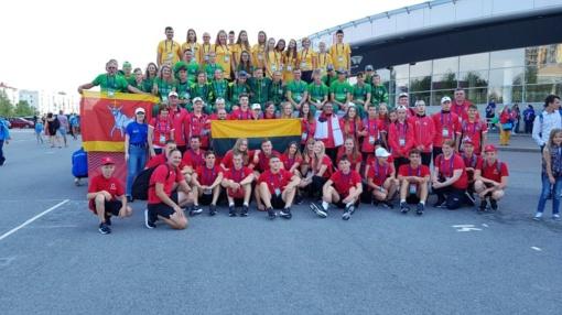 Kauniečių sėkmė Tarptautinėse vaikų žaidynėse: 10 individualių trofėjų ir futbolininkų auksas