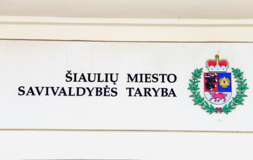 Naujoji Šiaulių Taryba dirba jau 100 dienų