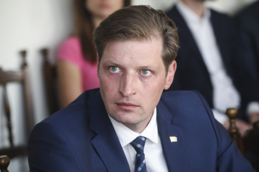 Aplinkos ministras K. Mažeika su mylimąja susilaukė vaikelio