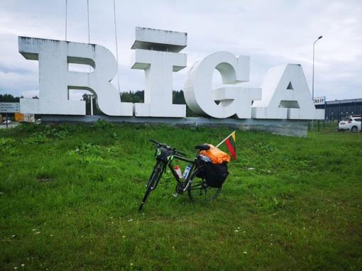 Marijampoliečio tikslas: dviračiu po Baltijos šalis – įveiktas