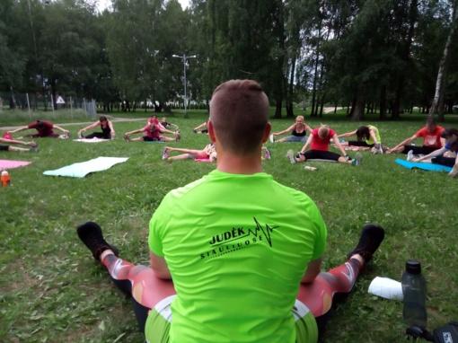 Kviečia nemokamai sportuoti su Šiaulių miesto visuomenės sveikatos biuru!