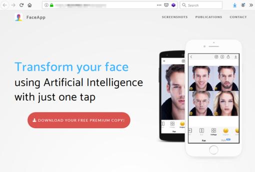 """Plinta """"FaceApp"""" apsimetantys kompiuteriniai virusai"""