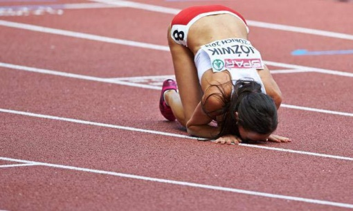 Bėgikė G. Galvydytė Europos jaunimo čempionate - devinta