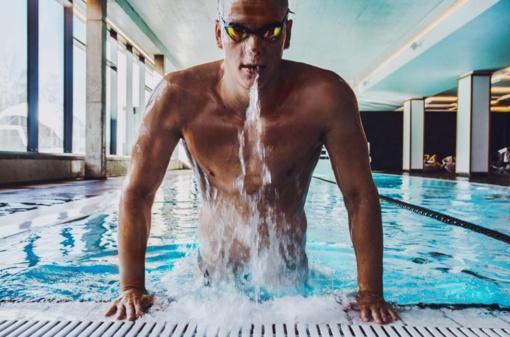 Plaukikas D. Rapšys: tai buvo sunkiausi metai mano gyvenime