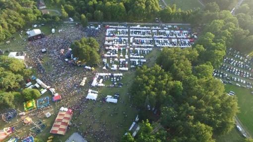 Žagarės vyšnių festivalis: policijos pareigūnai intensyviai dirbo, kad žmonės galėtų linksmintis