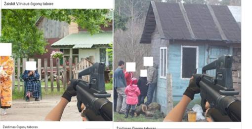 Nužmogėjimas? Vilniaus romus pavertė taikiniais kompiuteriniame žaidime