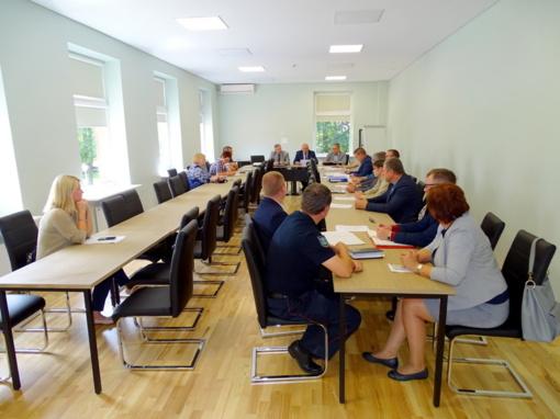 Vyko savivaldybės ekstremalių situacijų komisijos posėdis