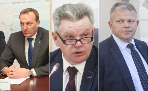 Įvardinti trys galimi nauji ministrai