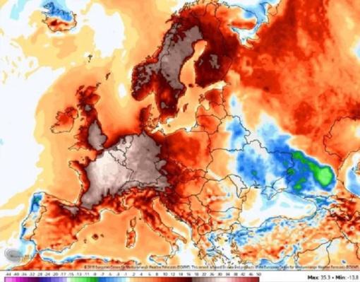 Europiečiai imasi už galvų: smogs dar viena karščio banga