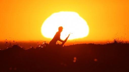 Vakarų Europą apėmus kaitros bangai fiksuojami nauji temperatūros rekordai
