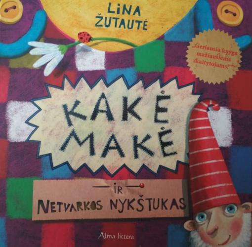 Skaitomiausia bibliotekose– istorijų apie Kakę Makę autorė Lina Žutautė