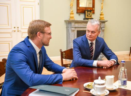 Po L. Kukuraičio susitikimo su prezidentu nepaaiškėjo, ar ministras liks poste