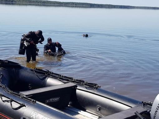 Ieškoma galimai nuskendusio žvejo