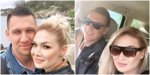Natalija Bunkė ir Edgaras Eidėjus švenčia antrąsias draugystės metines