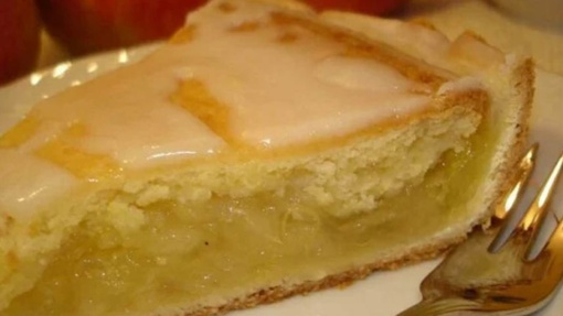 Citrininis obuolių pyragas