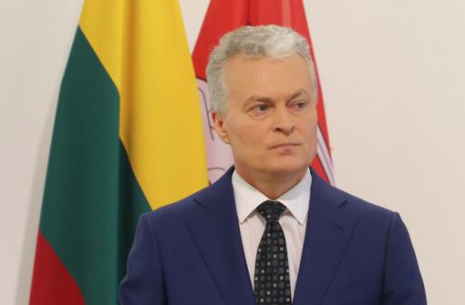 """G. Nausėda politinių kalinių ir tremtinių sąskrydyje: """"Aš tikiu šviesia Lietuvos ateitimi"""""""