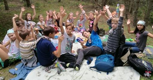 """""""Šventupiukų"""" stovykloje – pažintis su amatais"""