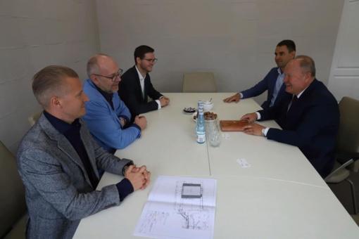 Pristatytas Kauno oro uosto plėtros projektas
