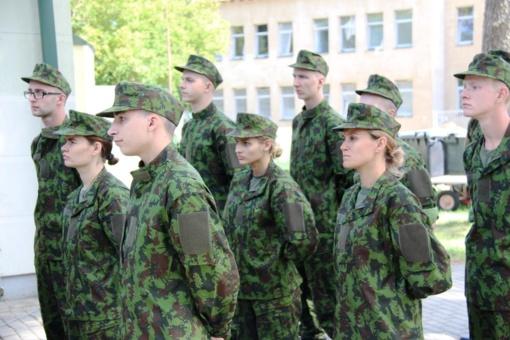 Kęstučio batalione tarnybą pradeda beveik 500 šauktinių (galerija)
