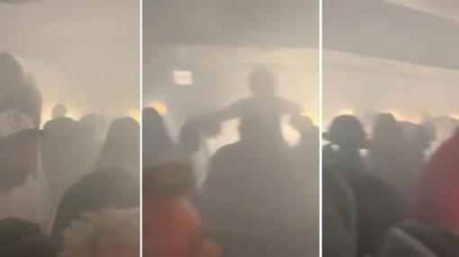 Skrydis iš Londono – kaip iš siaubo filmo (vaizdo įrašas)