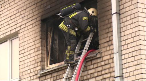 Radviliškio rajone užgesinus gaisrą rastas negyvas vyras