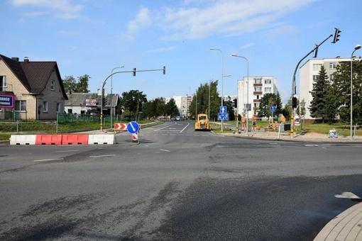 Gera žinia panevėžiečiams: bus atnaujinamas dvipusis eismas Molainių gatve