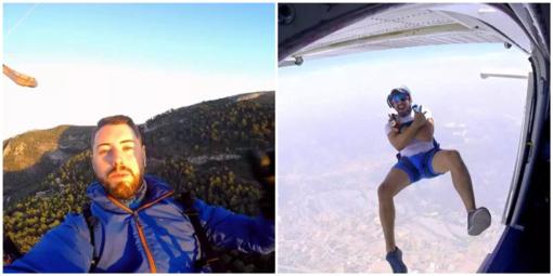 """Tragiška """"YouTube"""" žvaigždės žūtis: vyrui neišsiskleidė parašiutas"""