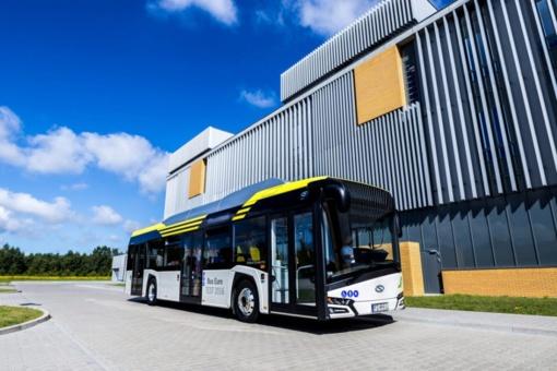 """""""Vilniaus viešasis transportas"""" už 136 tūkst. eurų perka elektrinių mikroautobusų įkrovimo paslaugą"""