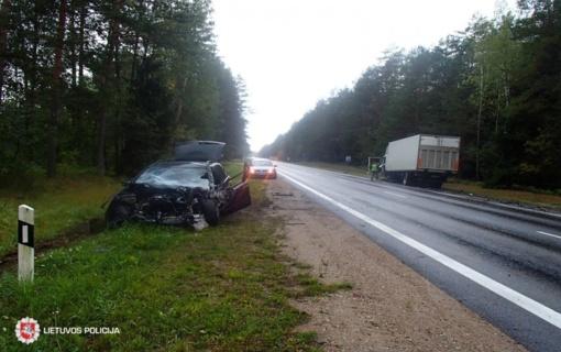 Savaitgalį Lietuvos keliuose žmonių aukų neišvengta