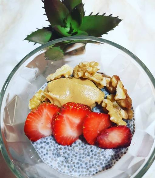 Chia sėklų pudingas - puikiausias pusryčių sprendimas ir organizmo šluota