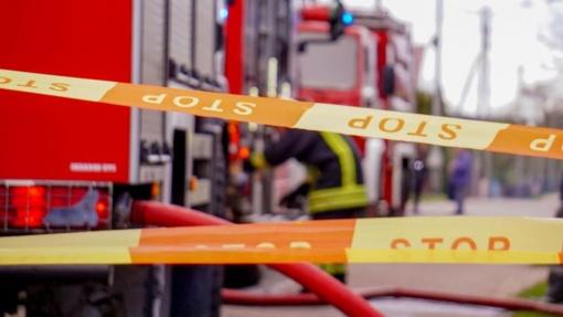 Vilniaus centro pastate įvyko sprogimas, dingo elektra