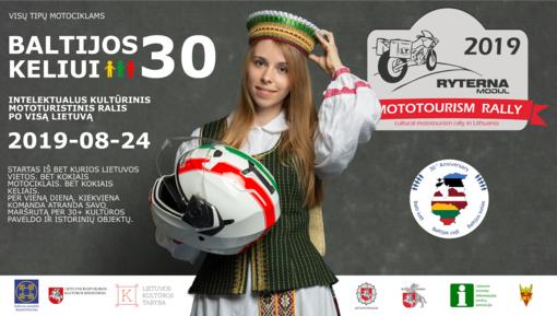 Ryterna Modul Mototourism Rally – intelektualus kultūrinis ralis po visą Lietuvą