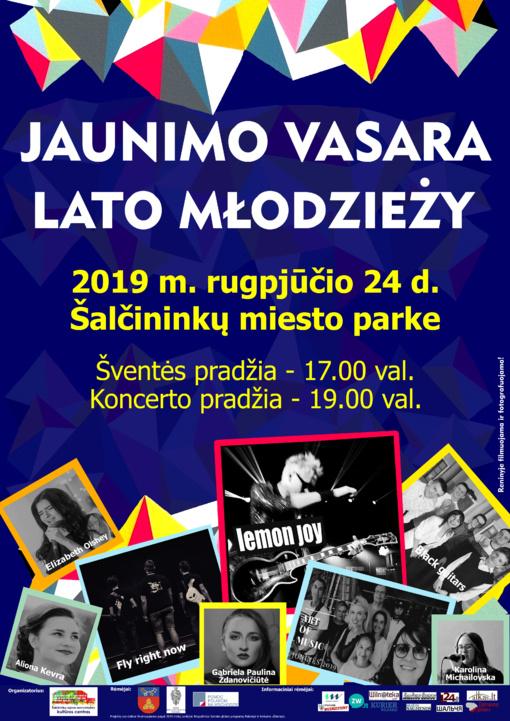 Jaunimo vasara 2019