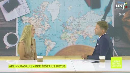 """I. Krupavičiaus klausimas pašnekovei laidoje """"Labas rytas, Lietuva"""" daugelį nustebino"""