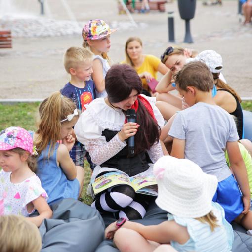 Skaitymo šventė mažiesiems