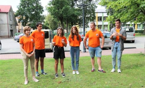 Jaunimas kvietė kartu minėti Tarptautinę jaunimo dieną